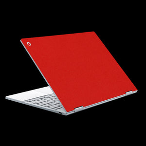 Matte Red / Top & Trackpad 7 Layer Skinz Custom skin wraps