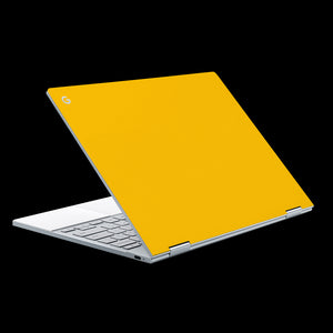 Matte Yellow / Top & Trackpad 7 Layer Skinz Custom skin wraps