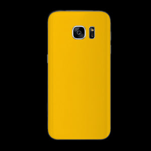 Matte Yellow 7 Layer Skinz Custom skin wraps