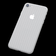White Carbon Fiber / Back Only 7 Layer Skinz Custom skin wraps