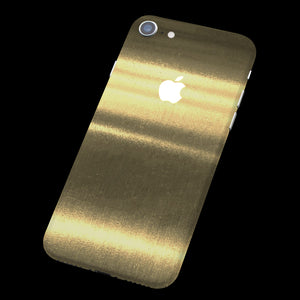 Brushed Gold / Back Only 7 Layer Skinz Custom skin wraps