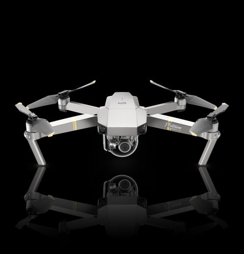 DJI Mavic Pro Skin - 7 Layer Skinz custom 3M skin wrap