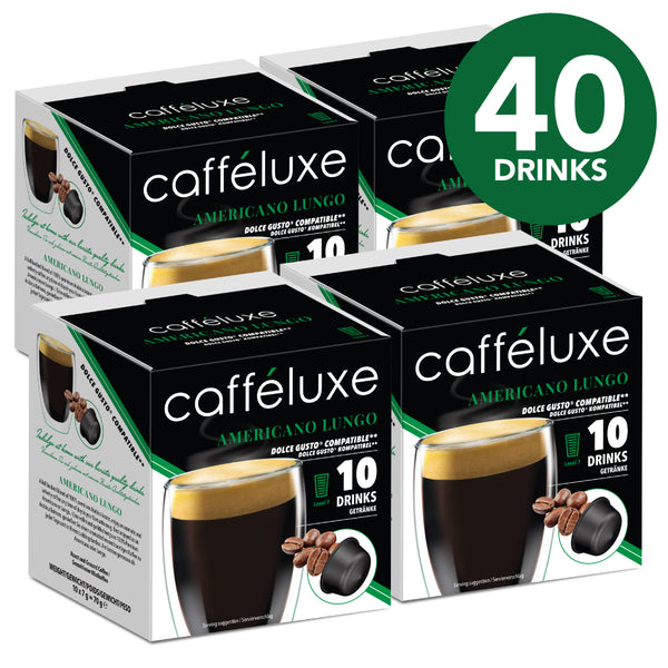 Single Serve 40 - Americano Lungo Bulk