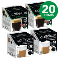 40s Single Serve 10 - Cappuccino Combo (20 Drinks)