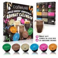 Dolce Gusto® Compatible Festive ADVENT CALENDAR Capsule Selection