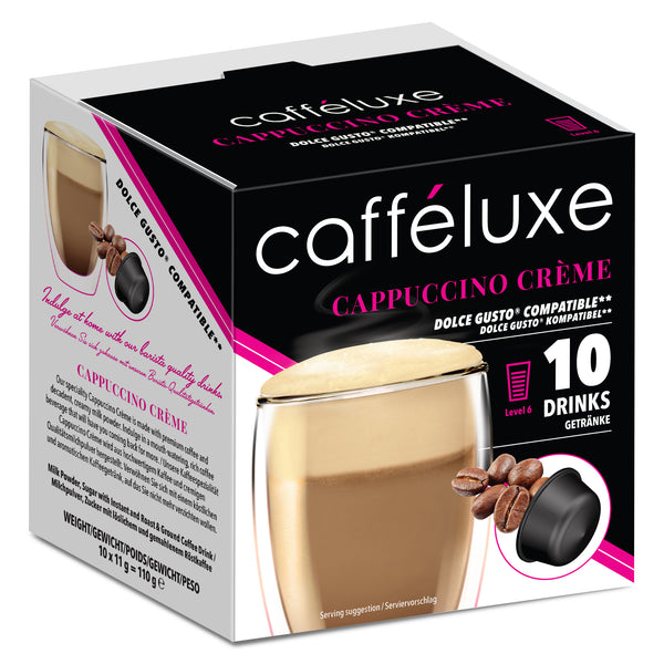 Single Serve 10 - Cappuccino Creme