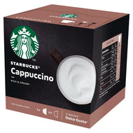 Starbucks Cappuccino By Nescafe Dolce Gusto 12 Capsules