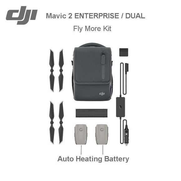 DJI Mavic 2 Fly More Kit for ENTERPRISE DUAL / Mavic 2 ENTERPRISE-Parts & Accessories-Drones Xpress