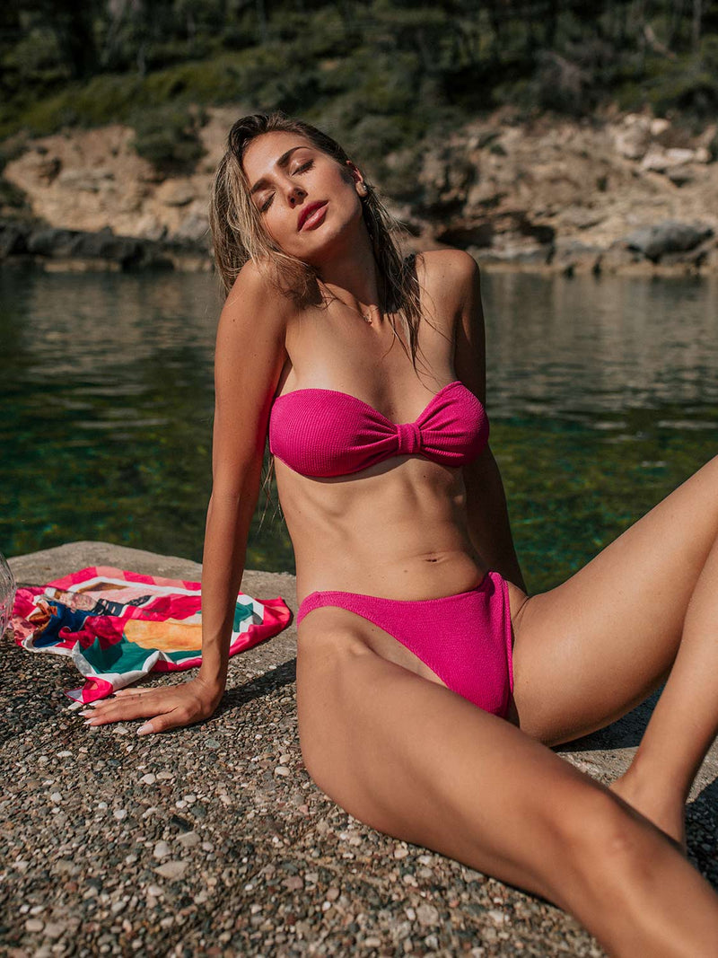 Bikini KIM In Raspberry Color