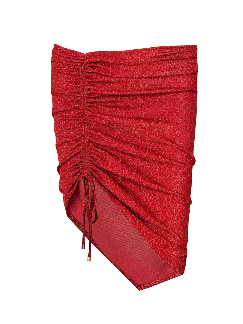 Beach Skirt Red Touch Mini