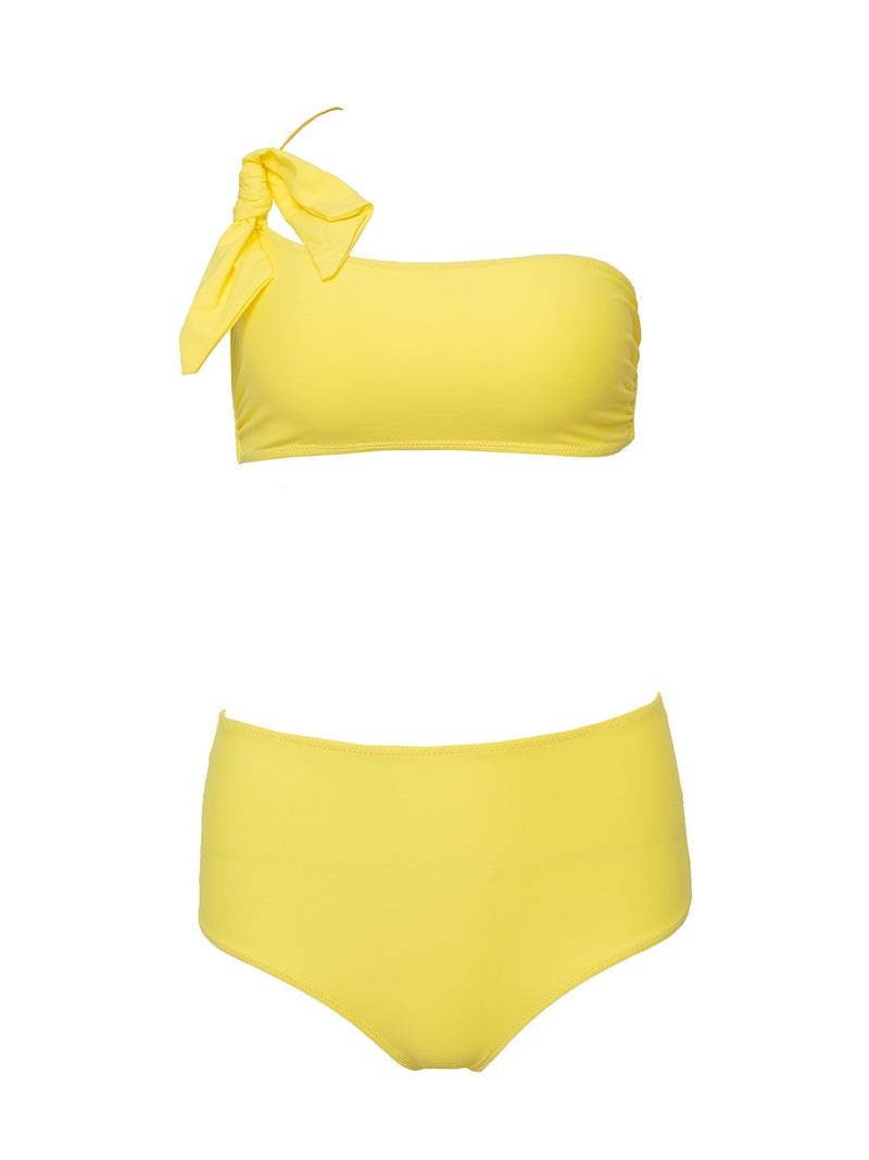 Two Piece Swimsuit Olivia In Yellow