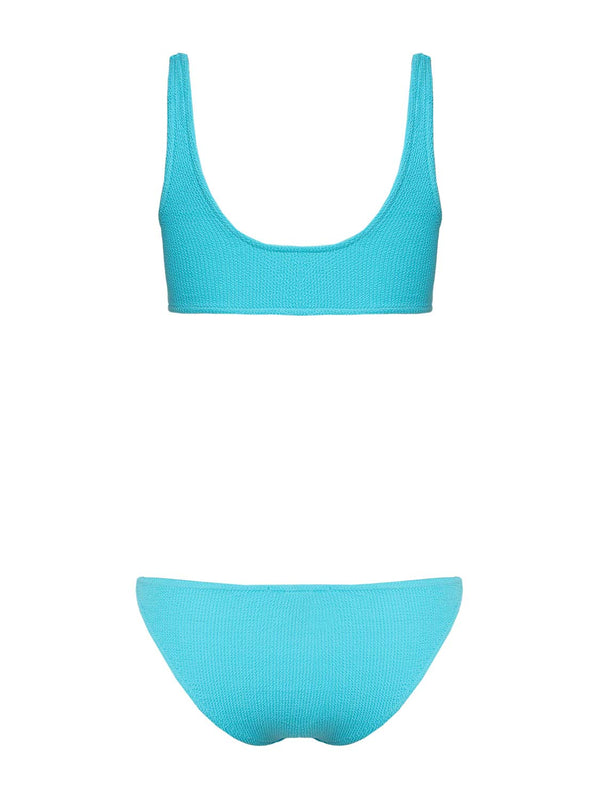 Two Piece Swimsuit Emily In Color Blue Gum