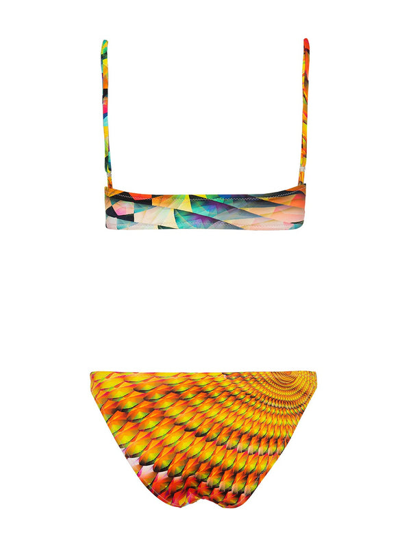 Two piece swimsuit CHIARA PARROT