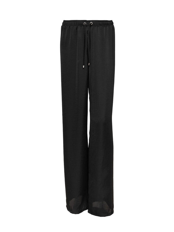 Black Beach Trousers