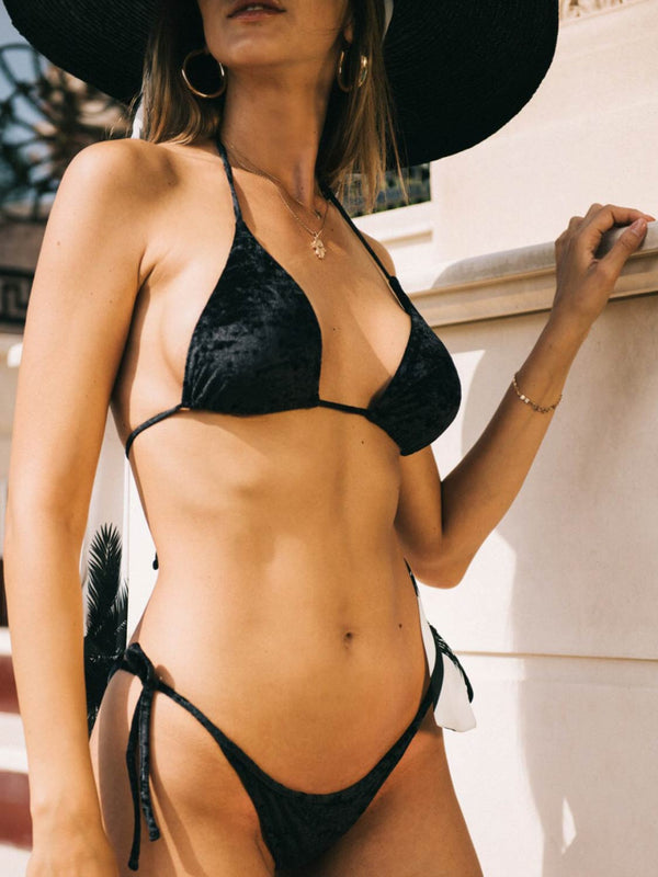 Black swimsuit two piece