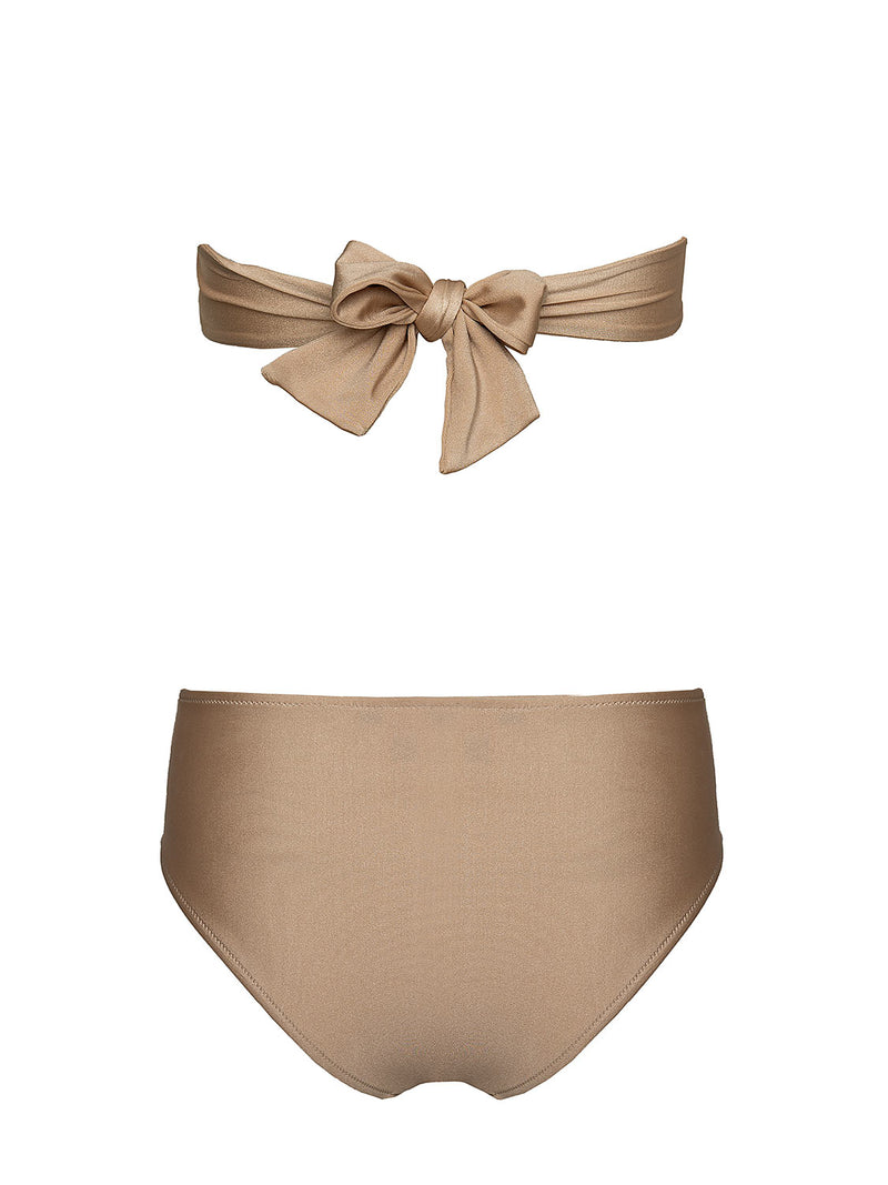 Two Piece Swimsuit VITORIA Champagne