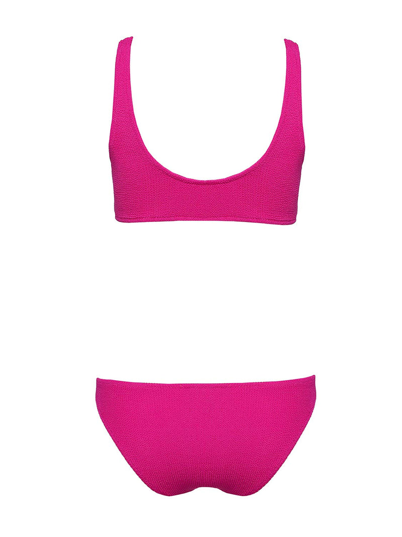 Two Piece Swimsuit Emily In Raspberry Color