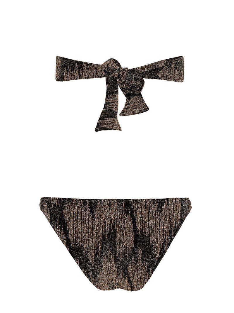 TWO PIECE SWIMSUIT VITORIA GOLD