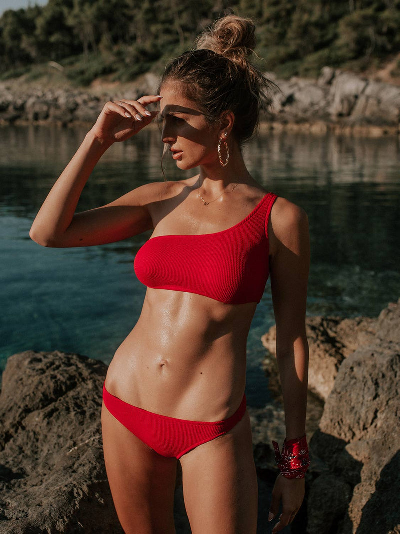 Bikini STASSIE In Strawberry Red Color