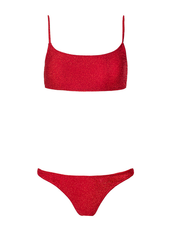 Two Pieces CHIARA In Christmas Red Color