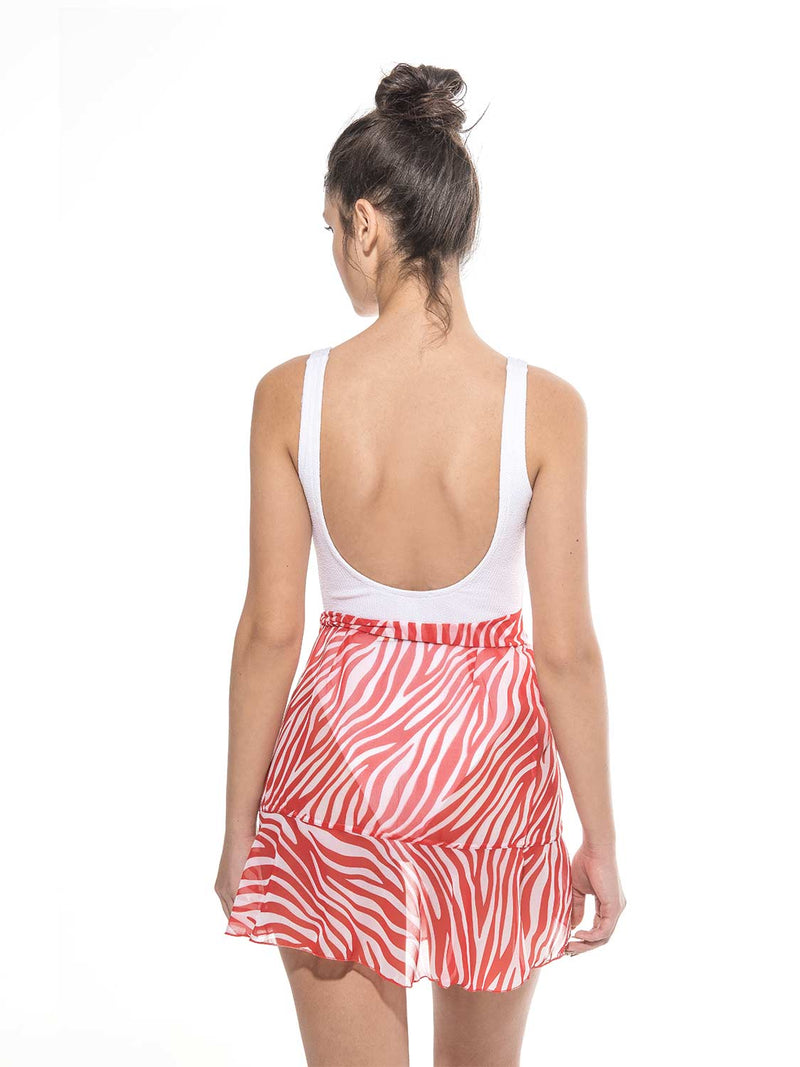Skirt beach cover up