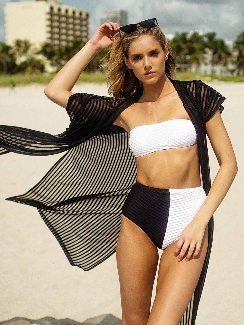 Swimsuit high waisted two piece