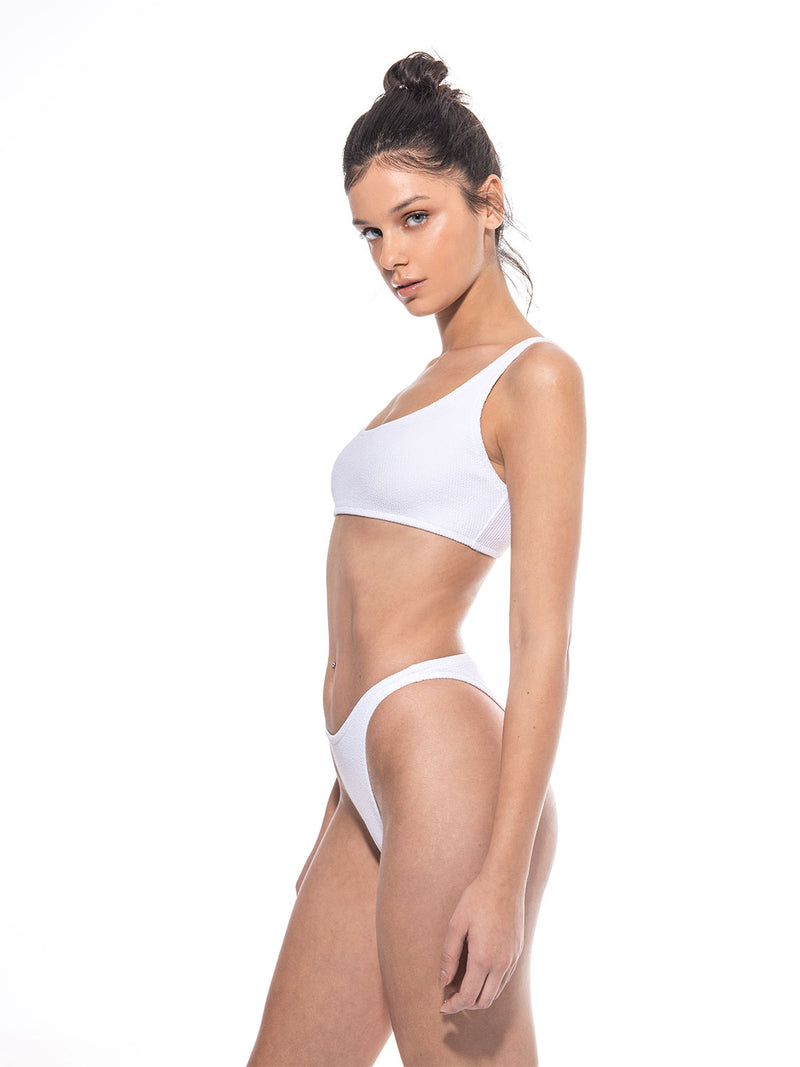 White swimsuit one size