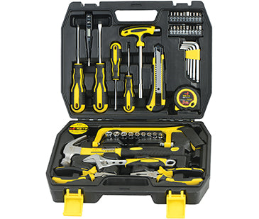 WHOLE SALE Home Repair Hand Tool Kit with Plastic Tool box Storage Case  6SETS