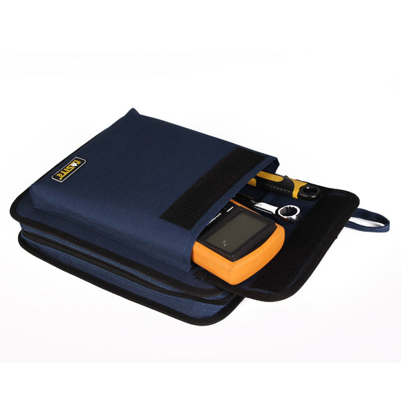 FASITE Portable Tool Zippered Hard Board Case Bag Pouch with Handles PTN027