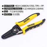 WHOLE SALE 10-22 AWG Wire Stripper,Wire Crimper And Multi-Function Hand Tool  30PCS