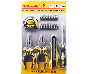 25PCS HOME OWNER'S TOOL SET