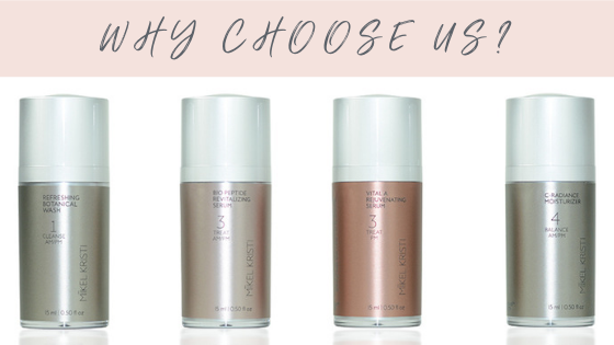 Why Choose Mikel Kristi Skin Care? - Mikel Kristi