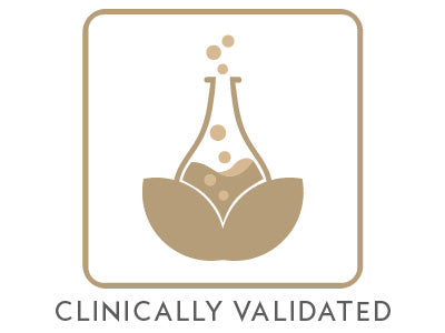Mikel Kristi Skincare Clinically Validated Badge Gold