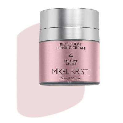 Bio Sculpt Firming Cream 50ml flat lay 2020 - Mikel Kristi
