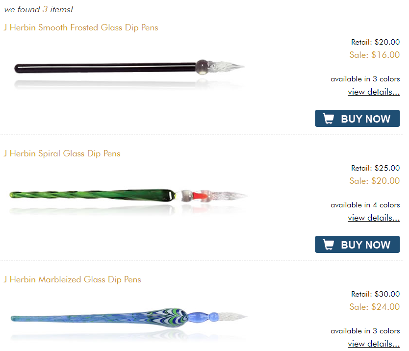 buy glass dip pen