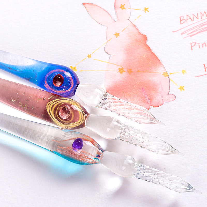 The Constellation Series Glass Dip Pen