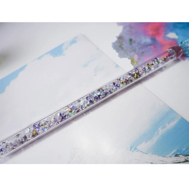 8 Colors Diamonds Glass Dip Pen  - Crystal Glass Dip Pen for Calligraphy