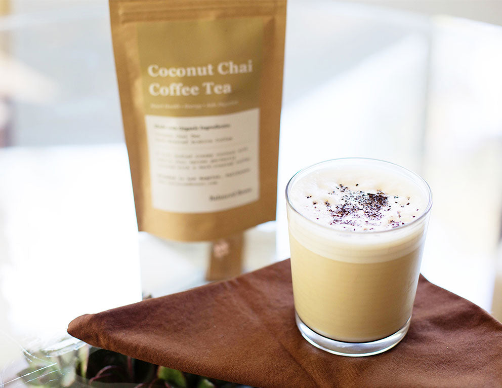 Recipe: Adaptogenic Coconut Chai Latte