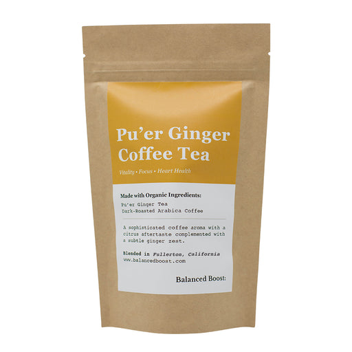 Pu'er Ginger Coffee Tea Blend