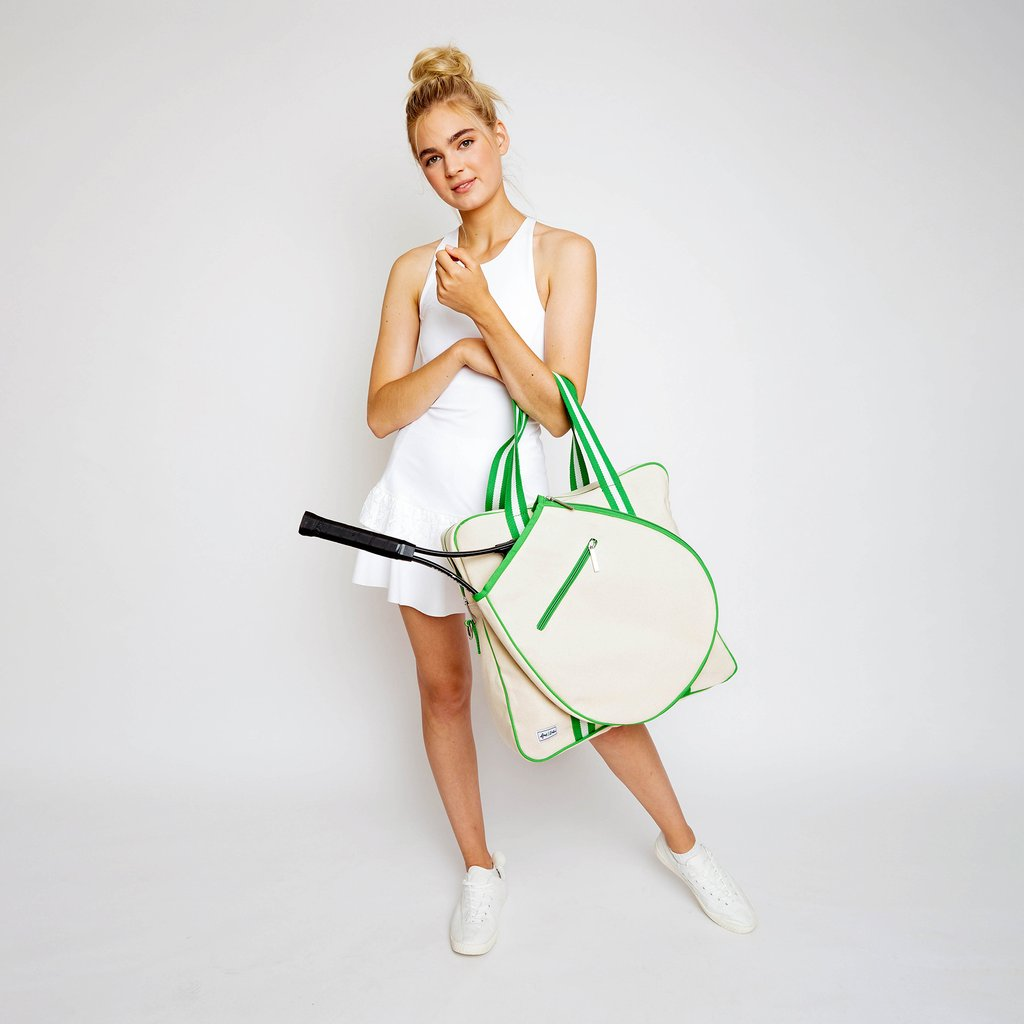 Hamptons Tour Bag - Limeade