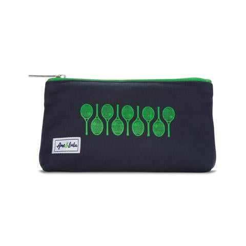 Icon Brush It Off Cosmetic Case - Racquets