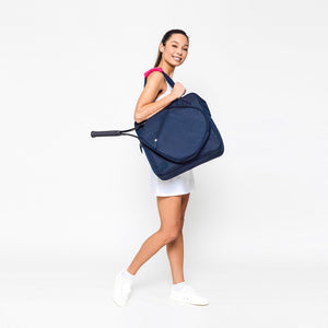 Sweet Shot Tennis Tote - Navy