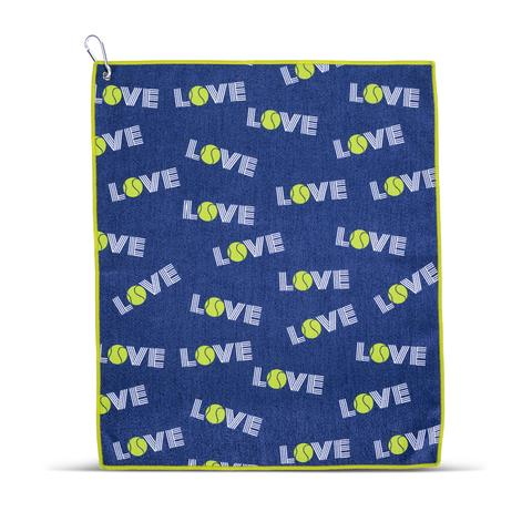 Tinsley Tennis Towel - Green Love