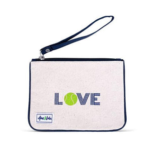 Icon Forget Me Not Wristlet - Green Love