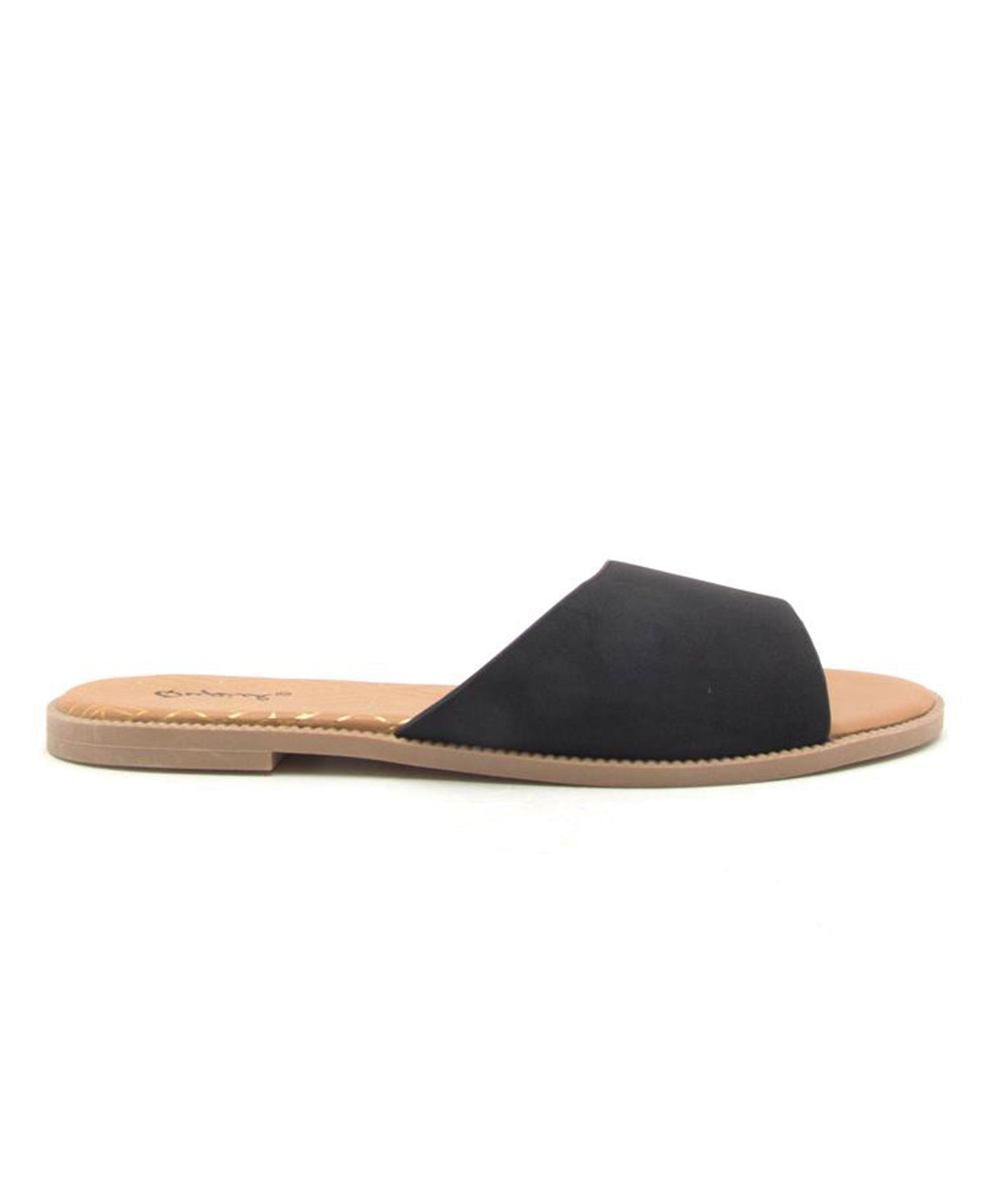 Desmond One Band Sandal - Black