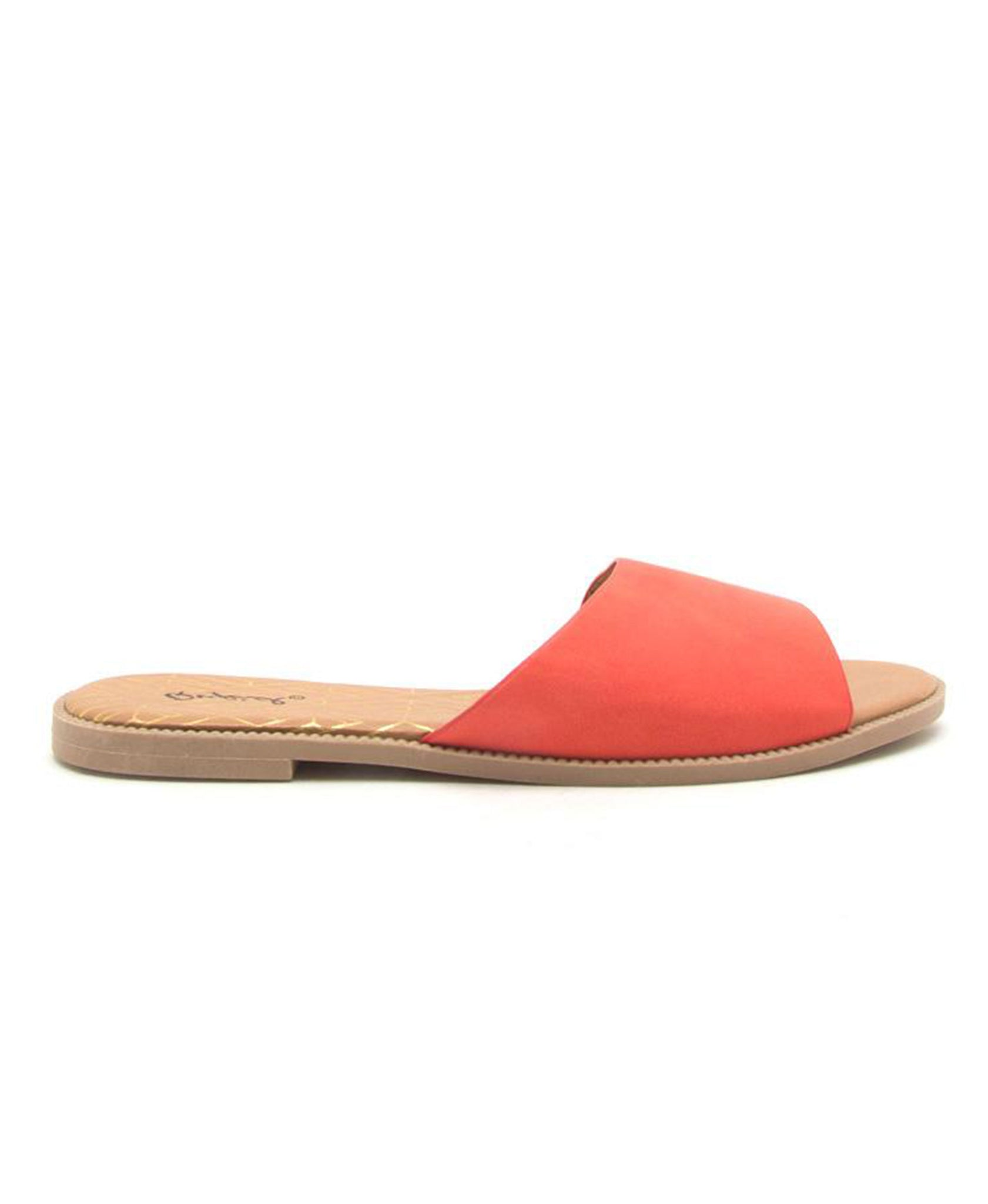 Desmond One Band Sandal - Blood Orange