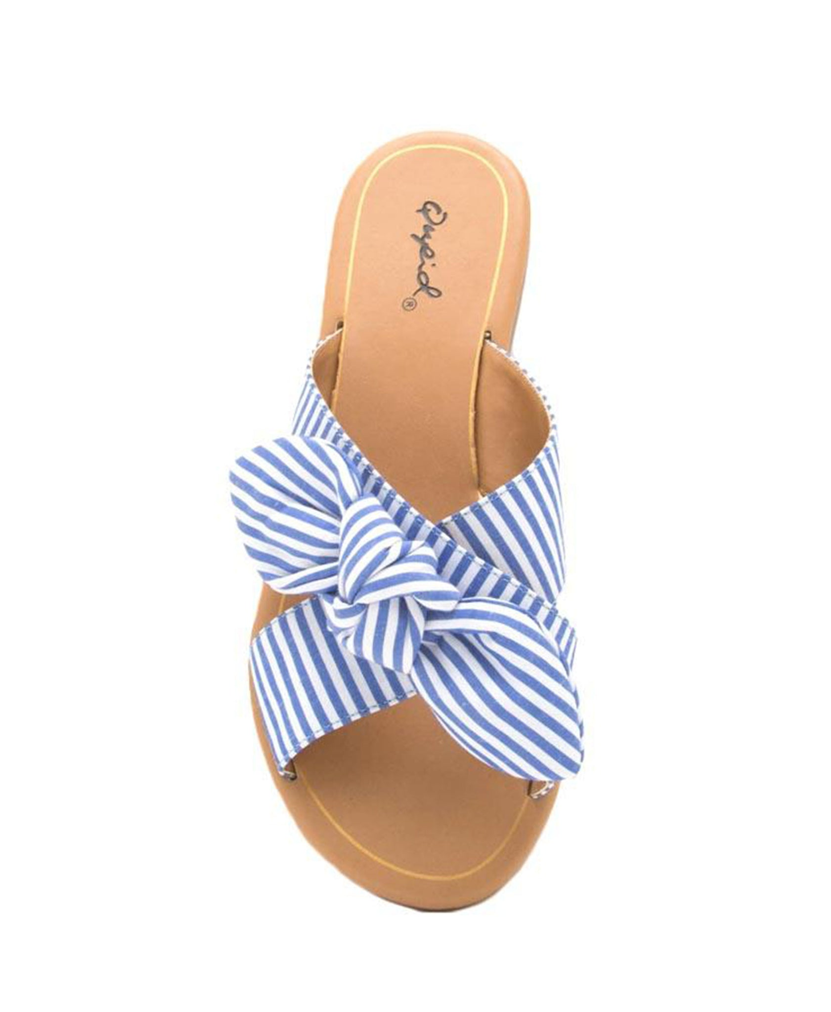 Autumn Bow Slide - Blue