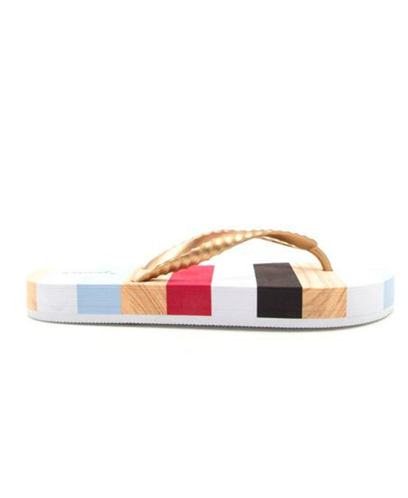 August Thong Sandal - Gold