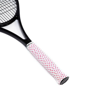 Tennis Over Grips - Pink Polka Dots