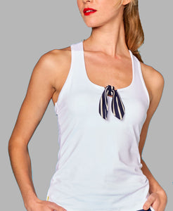 Nautical Bow Racerback - Stripe